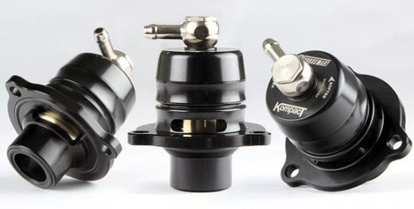 TURBOSMART Kompact Shortie Dual Port Blow Off Ventil Ford Fiesta ST 1,6 Turbo