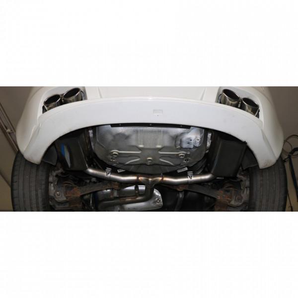 FOX Alfa Romeo Brera 939 Endschalldämpfer Duplex