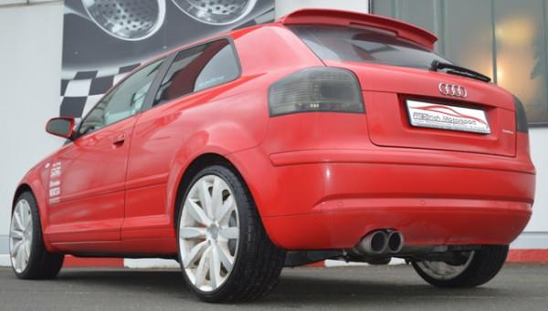 FMS 76mm Anlage Audi A3 8P Quattro