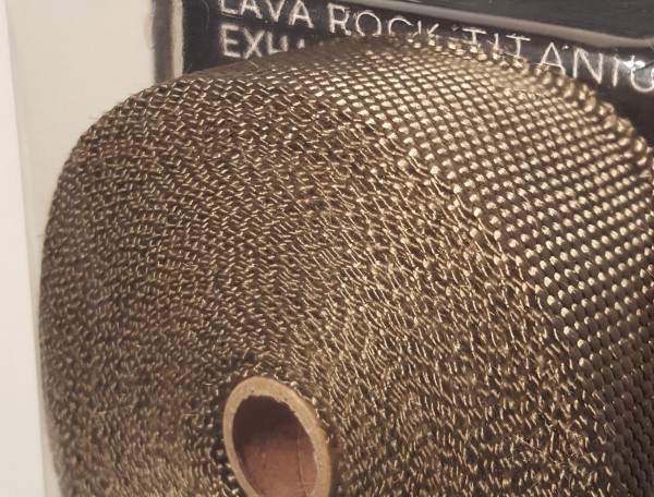 FUNK MOTORSPORT Hitzeschutzband Lava Rock Titanium