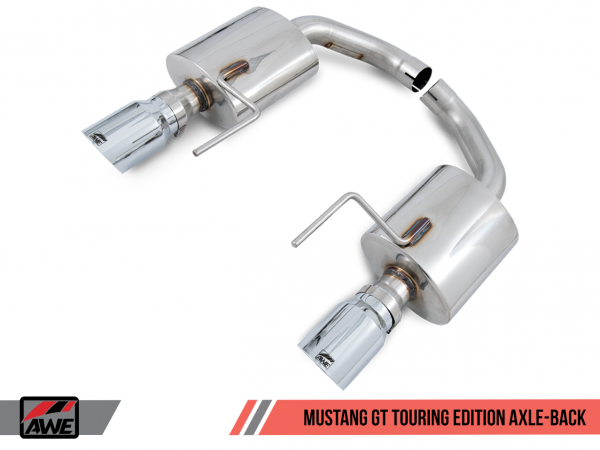 "AWE Tuning Ford Mustang GT Sport-Endschalldämpfer ""Touring Edition"" Axle Back"