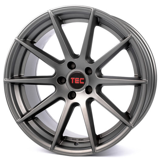 Tec Speedwheels GT-7 gun metal Importspeed