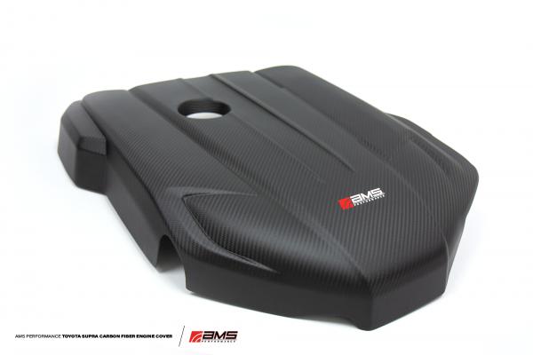AMS Carbon Fiber Engine Cover Toyota Supra GR A90 MK5 2019-