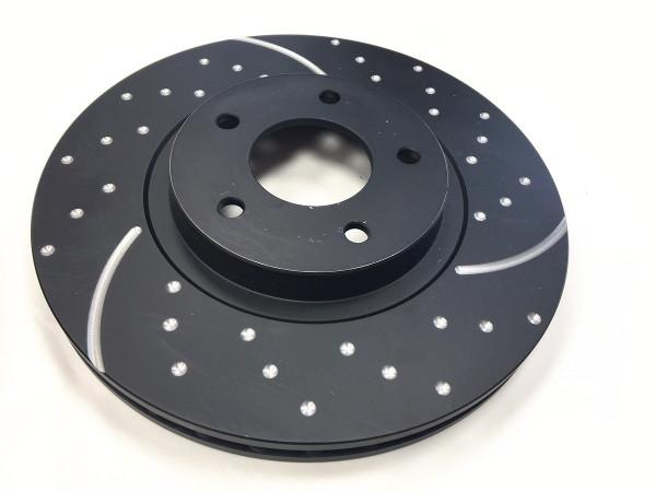 EBC Turbo Groove Disc Black Sportbremsscheiben VA Ford Forcus RS 2016-