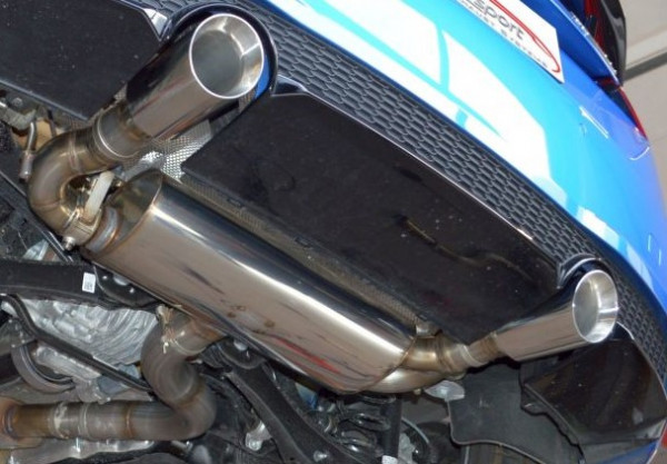 FMS Audi TT 8S Quattro Duplex-Sportendschalldämpfer
