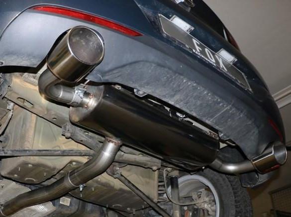 FOX Komplettanlage Opel Astra K 1,6 Turbo 2015- 147KW/200PS