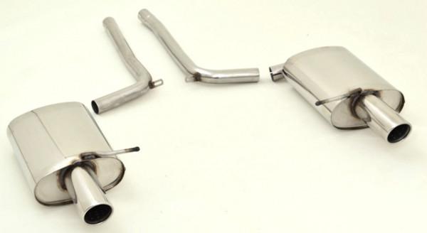 FMS Duplex Sportendschalldämpfer Audi A4 B6 (8E/8H) Quattro 1.8l Turbo/ 1.9l TDI/ 2.5l TDI/ 3.0l