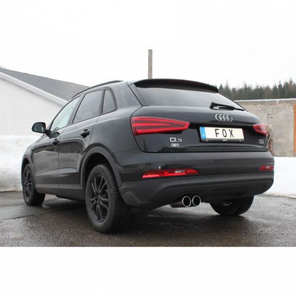 FOX Audi Q3 quattro 2,0 TDi Abgasanlage