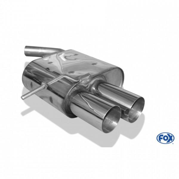 FOX BMW E87 118d 120d Endschalldämpfer