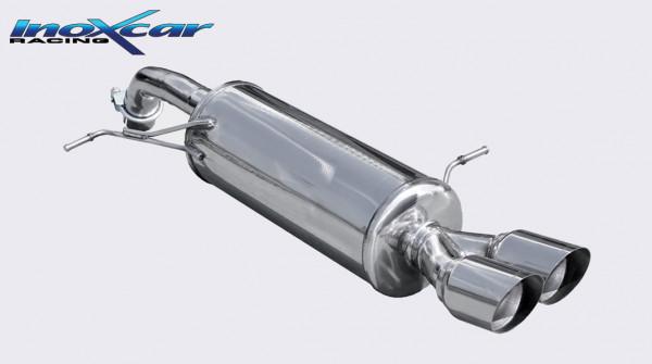 IMPORTSPEED INOXCAR Ford Fiesta ST180 Sport-Endschalldämpfer