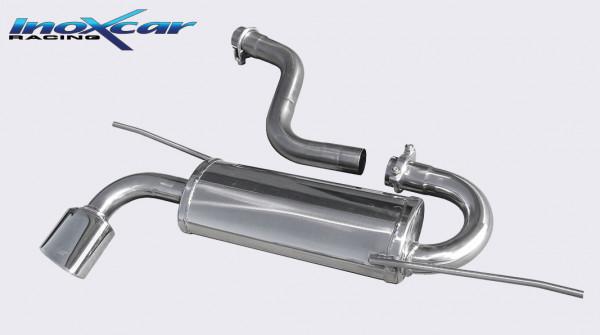 INOXCAR Volkswagen SCIROCCO 1.4 TSi/2.0 TDi 2008-- Sportendschalldämpfer 1x120x80mm OBLONG