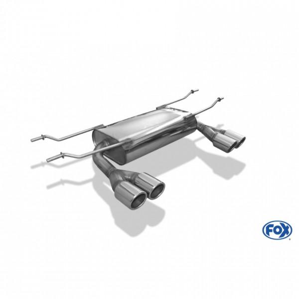 FOX Fiat 124 Spider Sport-Endschalldämpfer