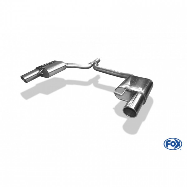 FOX Audi A4 B8 Limousine & Avant + S-Line Abgasanlage