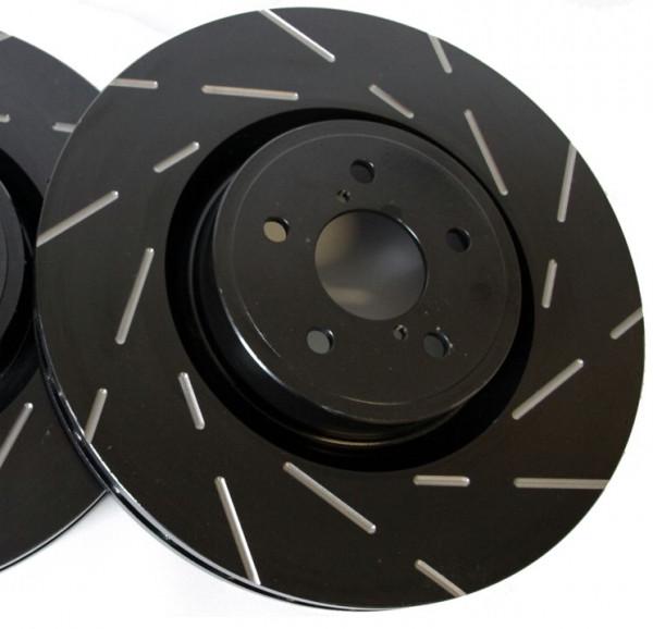 EBC Black Dash-Disc Sportbremsscheiben VA für Ford Fiesta ST