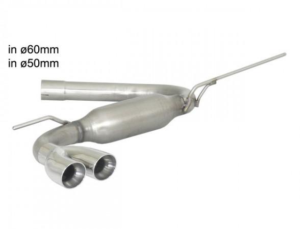 RAGAZZON VW Golf VII   1.6TDi 2012--   Sportendschalldämpfer 2x70mm Sport Line