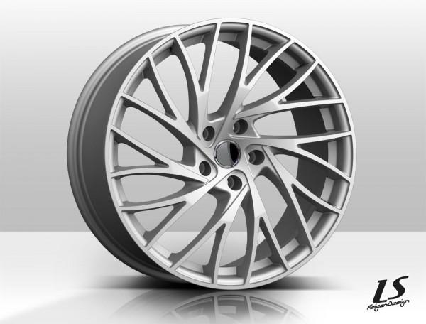 LS10 Silber 19Zoll Alufelgen Satz z.B. für BMW 3er Typ F30 3L F31 3K