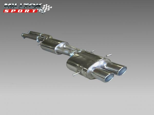 MILLTEK Abgasanlage ab KAT Audi RS4 B5