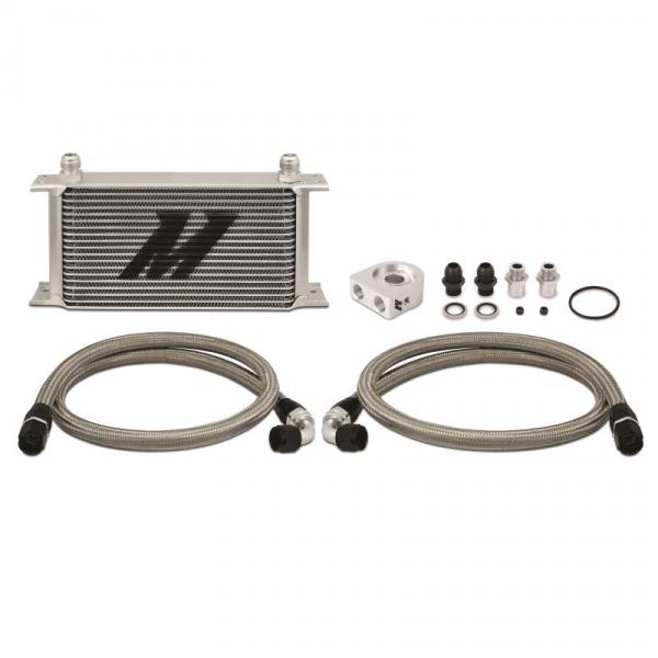 MISHIMOTO Ölkühler Kit 19 Reihen mit Thermostat