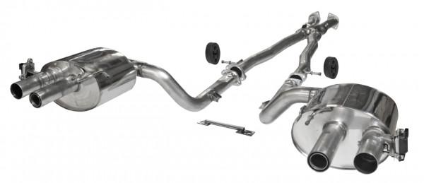 BASTUCK Abgasanlage mit Klappensteuerung KIA Stinger 3.3 T-GDI V6 2017-