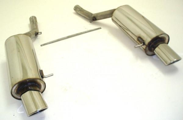 FMS Duplex Sportendschalldämpfer Audi A6 4B Quattro 1.8l / 2.4l / 2.5l TDI / 2.7l / 3.0l / 4.2l