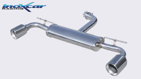INOXCAR Volkswagen GOLF 7 2.0 GTi 2013-- Sportendschalldämpfer DUPLEX 1x102mm