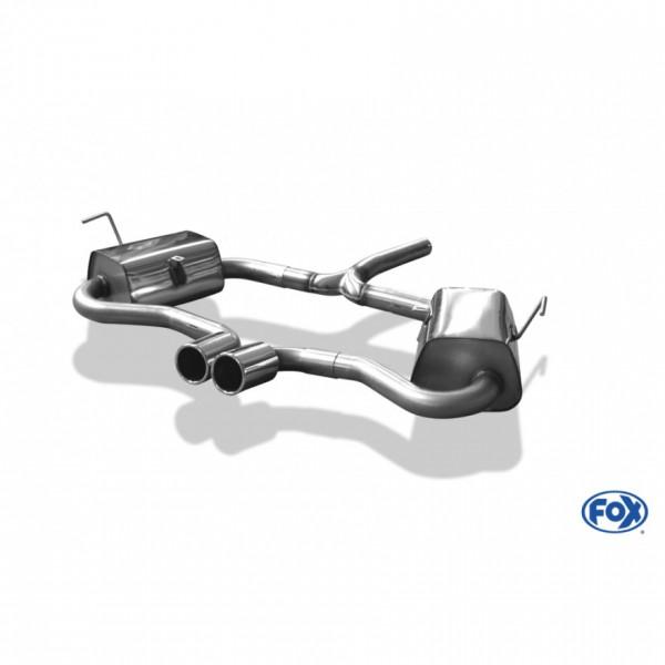 FOX Mini Cooper S R53 Komplettanlage mittig