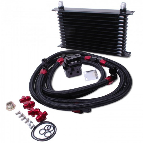 Ölkühler Kit 13 Reihen universal