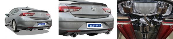 BASTUCK Opel Insignia B Grand Sport inkl. Sports Tourer ab 2018 Komplettanlage