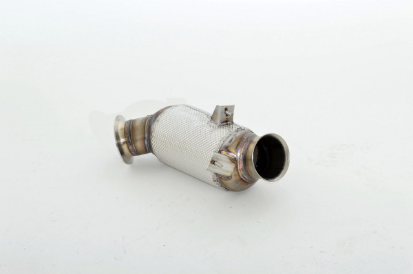 FMS 90mm Downpipe mit 300 Zellen HJS Sport-Kat. Edelstahl