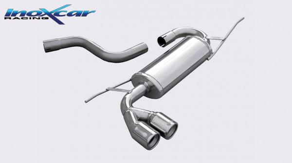 INOXCAR Volkswagen SCIROCCO 1.4 TSi 2008-- Sportendschalldämpfer 2x80mm