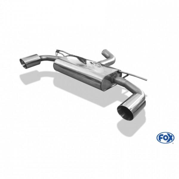 FOX VW Golf VII 2,0l GTI Endschalldämpfer