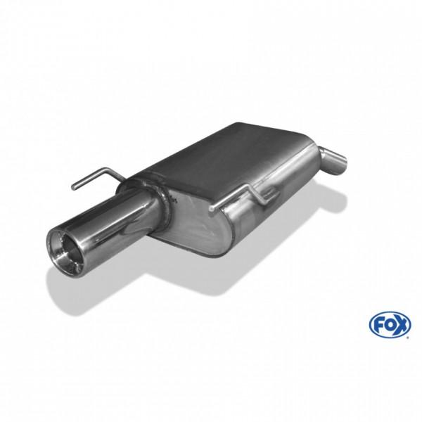 FOX Opel Vectra C Endschalldämpfer