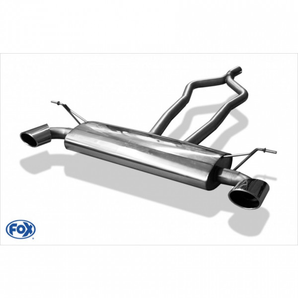 FOX VW Touareg Typ 7L Endschalldämpfer