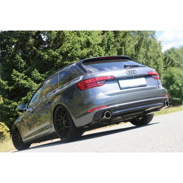 FOX Audi A4 quattro B9 Endschalldämpfer rechts/links