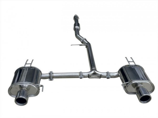 INVIDIA Q300 Komplettanlage ab Kat Honda Accord CL9