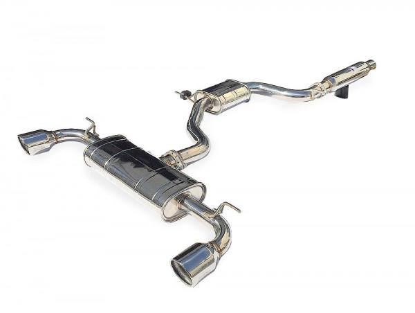 INVIDIA Q300 Komplettanlage ab Kat VW Golf 7 GTI