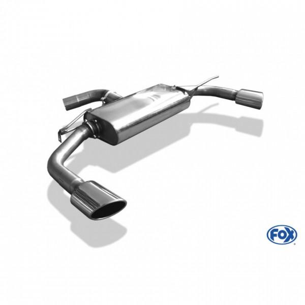 FOX VW Beetle 2,0l - 16 (5C) Coupe & Cabrio Endschalldämpfer