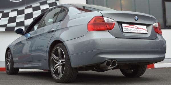 FMS 70mm Sportendschalldämpfer BMW E90 325d / 330d/330xd