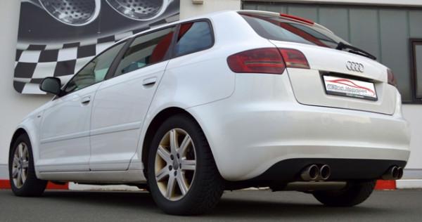 FMS Duplexanlage Audi A3 8P Sportback 1.2l TFSI / 1.4l TFSI / 1.8l TFSI / 2.0l TDI / 2.0l TFSI