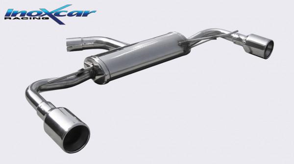 INOXCAR Volkswagen SCIROCCO 2.0R TFSi 2010-- Sportendschalldämpfer DUPLEX 1x102mm